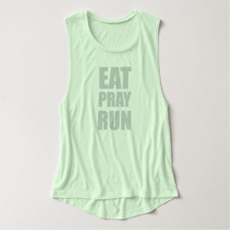 Eat Pray Run Tank Top