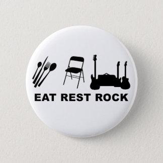Eat Rest Rock 2 Inch Round Button