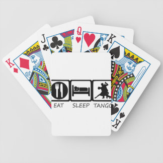 EAT SLEEP11 BICYCLE PLAYING CARDS