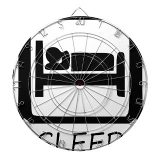 EAT SLEEP13 DARTBOARD