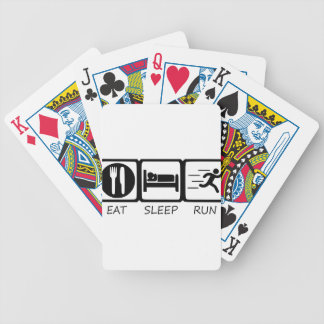 EAT SLEEP15 BICYCLE PLAYING CARDS