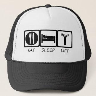EAT SLEEP17 TRUCKER HAT