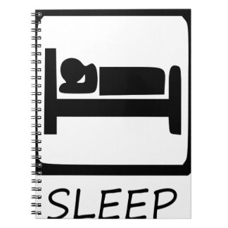 EAT SLEEP25 NOTEBOOK