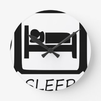 EAT SLEEP25 ROUND CLOCK
