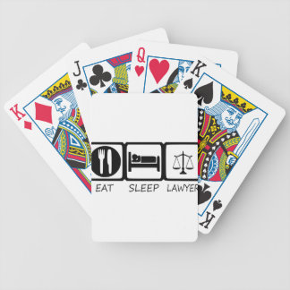 EAT SLEEP33 BICYCLE PLAYING CARDS