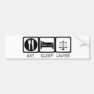 EAT SLEEP33 BUMPER STICKER