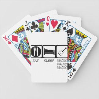 EAT SLEEP37 BICYCLE PLAYING CARDS