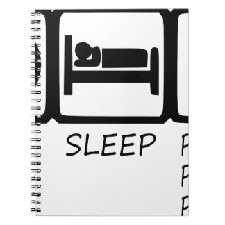 EAT SLEEP37 SPIRAL NOTEBOOK