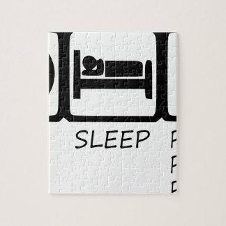 EAT SLEEP39 JIGSAW PUZZLE