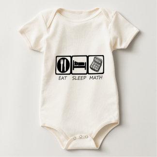 EAT SLEEP3 BABY BODYSUIT