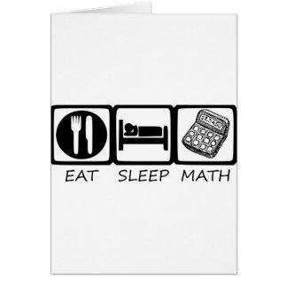 EAT SLEEP3 CARD