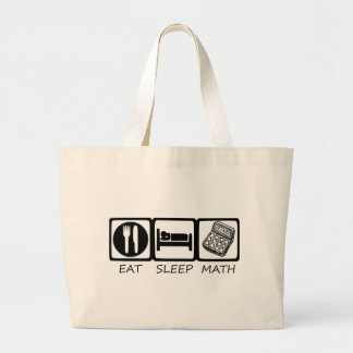 EAT SLEEP3 LARGE TOTE BAG