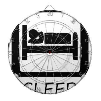 EAT SLEEP43 DARTBOARD