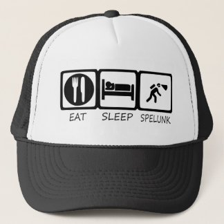 EAT SLEEP45 TRUCKER HAT