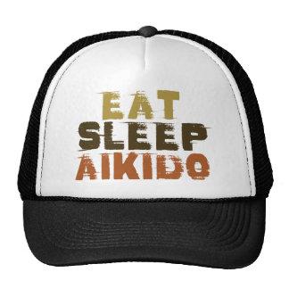 Eat Sleep Aikido Trucker Hat