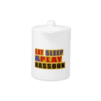Eat Sleep And Play BASSOON