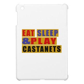Eat Sleep And Play CASTANETS iPad Mini Cases