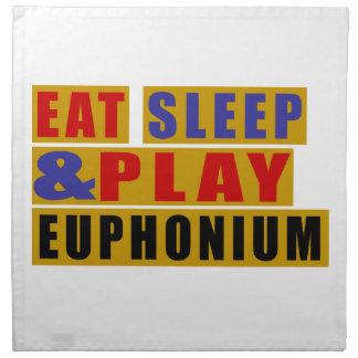 Eat Sleep And Play EUPHONIUM Napkin