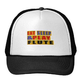 Eat Sleep And Play FLUTE Trucker Hat