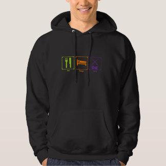 Eat, Sleep, and Train sweatshirt