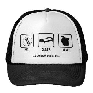 Eat. Sleep. Apple. Trucker Hat