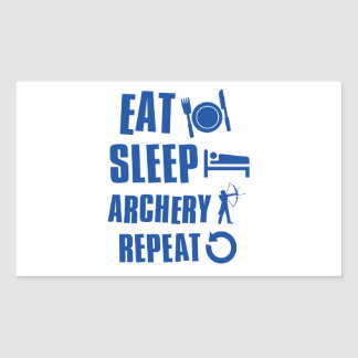 Eat sleep archery sticker