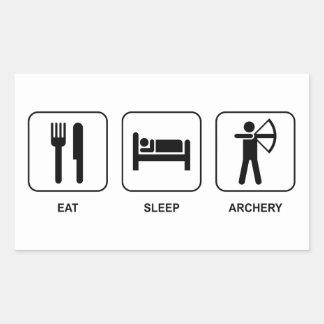 Eat Sleep Archery Sticker
