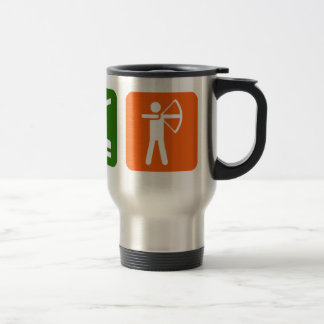 Eat Sleep Archery! Travel Mug