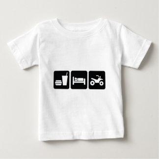Eat Sleep ATV Baby T-Shirt