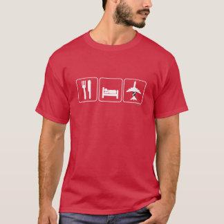 Eat Sleep AWACS T-Shirt