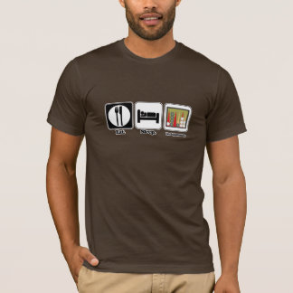 eat sleep backgammon T-Shirt