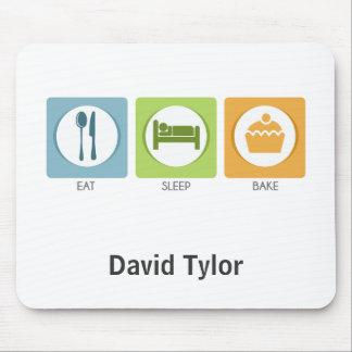 Eat Sleep Bake! Mouse Pad