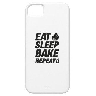 Eat Sleep Bake Repeat iPhone 5 Case