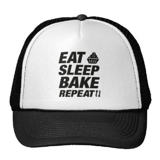 Eat Sleep Bake Repeat Trucker Hat