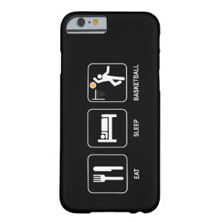 Eat Sleep Basketball Barely There iPhone 6 Case