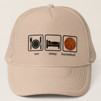 Eat, Sleep, Basketball Trucker Hat