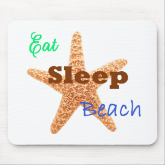 Eat Sleep Beach - Mouse Pad