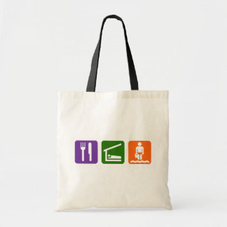 Eat Sleep Beach Tote Bag