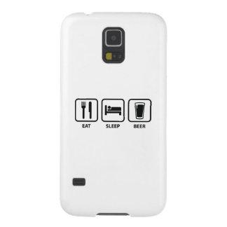 Eat Sleep Beer Galaxy S5 Covers