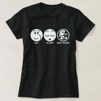 Eat Sleep Beethoven T-Shirt