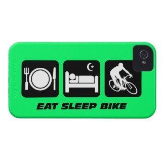 eat sleep bike iPhone 4 case