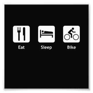 Eat Sleep Bike Photo