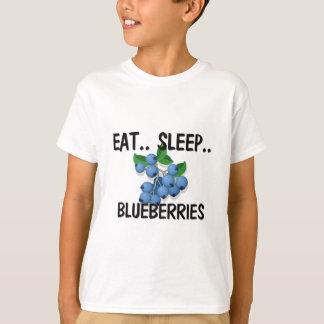 Eat Sleep BLUEBERRIES T-Shirt