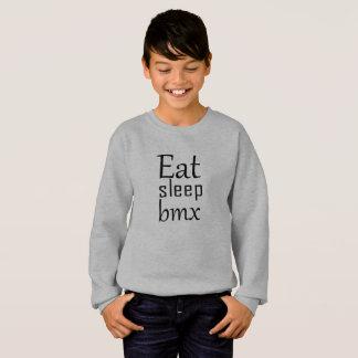 Eat sleep bmx sweatshirt