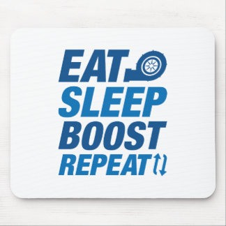 Eat Sleep Boost Repeat Mouse Pad