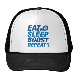 Eat Sleep Boost Repeat Trucker Hat
