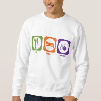 Eat Sleep Bowl Sweatshirt