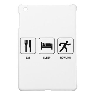 Eat Sleep Bowling iPad Mini Cover
