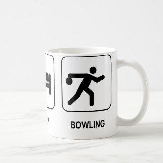 Eat Sleep Bowling Mug