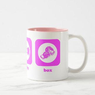 Eat. Sleep. Box. Mug